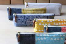 Pouches - sewing