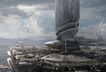 Футуристические города