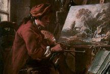 18th Century Paris - 'Perfume' Concept work