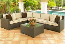 Wicker Sectionals / All-Weather wicker sectional packages
