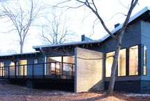 2015 Matsumoto Prize / Our annual architectural competition for NC designers building Modernist Homes / by North Carolina Modernist Houses