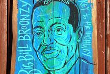 Big Bill Broonzy Blues art and pictures
