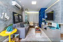 Apartamentos Pequenos / Apartamentos pequenos com várias idéias de decoração e de aproveitamento de espaços.