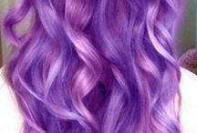 Purple hair ♡