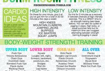 Health and Fitness / by Mae Hinson