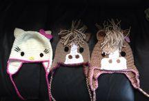Crotchet hats / Funny Hats