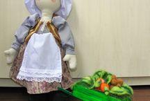 Огородница / Вальфдорская текстильная кукла