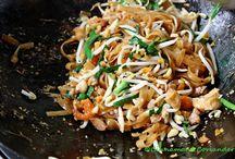 Thai and Vietnamese recipes