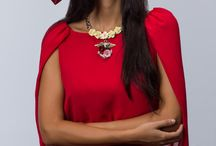 Edito Noor-Cristina  / Editorial de moda con Irene Duarte como Fotografo, peluquería y maquillaje Victor del Valle, diseñadores Juan Vara Costura, Hoss Intropia y Amanda Peralta, joyas y estilismos María Galán