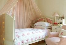 Beautiful children's rooms in shabby chic style