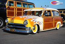 Woody Van / Cars covered in Wood