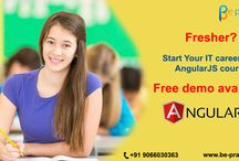 Start your career with AngularJS Course.