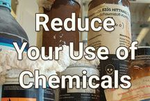 Reduce Your Use of Chemicals / Protect your health and protect the environment by reducing your use of chemicals.