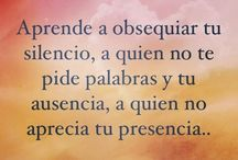 Quotes / Palabras que me gustan