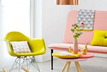 Spring Fling - Home Decor / Decor inspiration to prep your home for Spring colours and fresh blooms