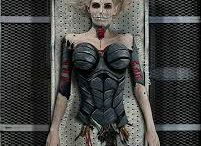 Halloween Glam Horror Make-Up / Thriller - 'The Splashmob'