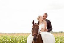 Mariée à cheval ! <3