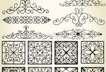 Decorative iron work / Ironwork