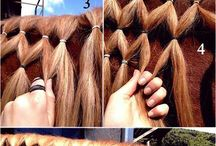 Horse mane ideas / For shows or general riding