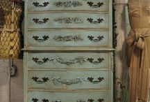 Furniture / Ideas on restoring/ re-painting furniture