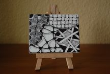 ZIA Zentangle Inspired Art / Zentangle inspirierte Kunst