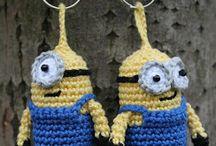 Crochet Small Items / key chains, amigurumi etc