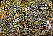 Pulsions originelles / Raphaël Kettani – Piet Linnebank Association du patrimoine artistique 7 rue Charles Hanssens 1000 Bruxelles Jusqu'au 7 février 2015