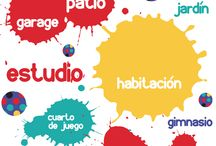 Espacios Kreativos / Ideas para llenar de creatividad los espacios en los que se desarrollan los niños.