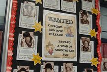 Western Theme / This board is filled with great ideas, resources, FREE downloads, and more to help you make the most of your Western, Old West, Country, or Cowboy / Cowgirl themed classroom! If you teach Kindergarten, 1st, 2nd, 3rd, 4th, 5th, or 6th grade - you're going to love the ideas included here! Classroom & Homeschool approved!