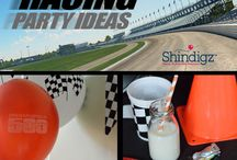 Party Ideas - Racing / It doesn't matter if you're a huge NASCAR fan or find Go-Cart racing more your speed, we'll show you exactly how to plan the perfect party to honor your passion. Everything from checkered flags to traffic cones can be found on this inspiration board!  / by Shindigz Party Supplies