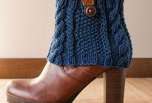 Гетры и вязаные манжеты для обуви