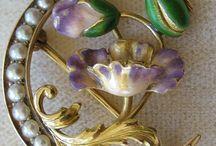 Art-nouveau jewelry