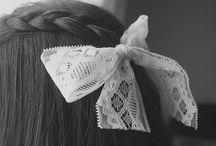 Hair - tutorials, hairstyles, accessories