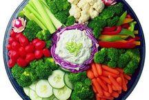 Decoración d ensaladas