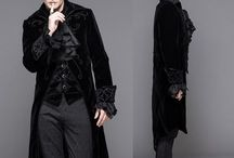 mens cape-trench etc
