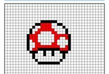 dessin pixel