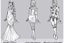 Clothing design / Marvellous pratice