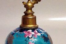 Frascos de perfume antigos