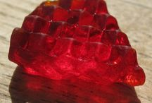 Red Sea Glass / Red / by Julie Kono