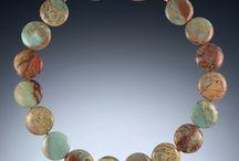 Statement Jewelry / Statement Necklaces, Gemstone Statement Necklaces, Statement Earrings, Natural Gemstone Earrings, Natural Gemstone Necklaces, Jasper, Coral, Lapiz Lazuli, and more!