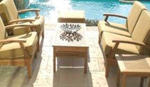 Patio Furniture / Commercial Grade Patio Furniture.  Designed for heavy use at the busiest resorts and hotels,