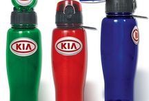 Stay Hydrated this Summer / Stay cool and hydrated this summer with custom water bottles and drinkware! Customized business promotional items are perfect for office work out groups, biking clubs, or for active customers.