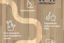 Pisos laminados / Los pisos laminados realzan la decoración de cualquier estancia. Sus características únicas facilitan la limpieza, garantizan durabilidad y brindan calidez al hogar.