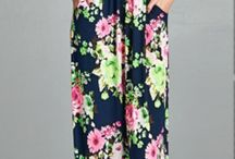 Maxi Skirts and Dresses / Who doesn't love a maxi? Maxi skirts and crop tops , midi maxi skirts, and floral maxis are the latest trends.