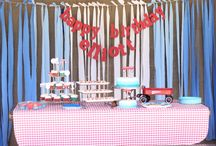 Red Wagon Birthday Party / by Tiffany Austin