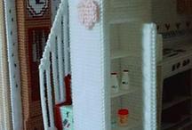 Barbie furniture misc / by Marlene McKinney