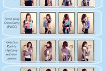Baby wearing / by Ashly Casey