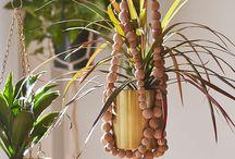 beaded plant hangers