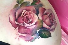 Rosen Schulter Tätowierungen