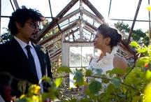 Our handmade wedding / Yevi and Carlos' outdoor, backyard wedding